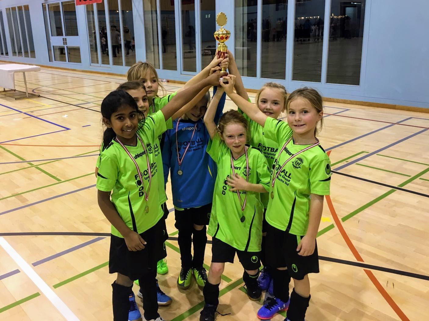 Girls Soccer School: Turnier in Embrach